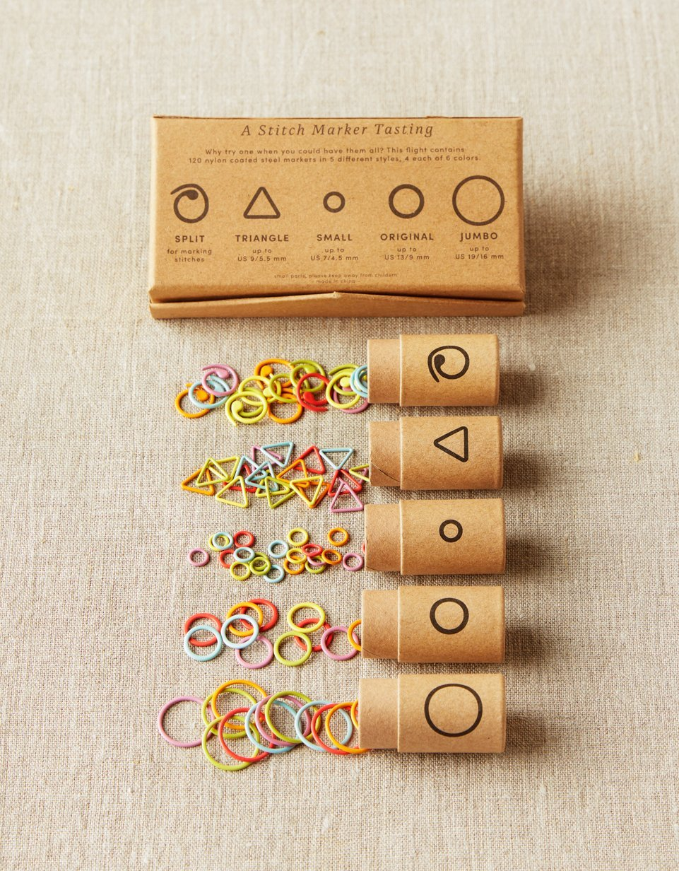 CocoKnits Flight of Markers