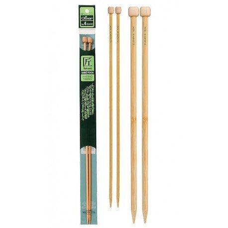 Clover Takumi straight needle size US 1 , 2.25mm