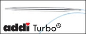 Addi Turbo circular needle size US 2.5 , 3mm