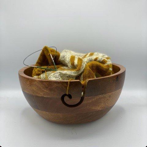 Upcycled Yarn Bowls