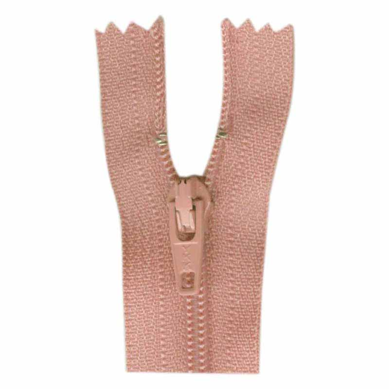 General Purpose Closed End Zipper 35cm (14) -- Rose - 1700