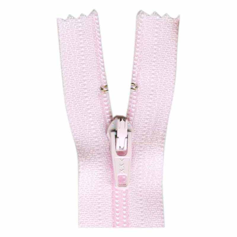 General Purpose Closed End Zipper 35cm (14) -- Baby Pink - 1700