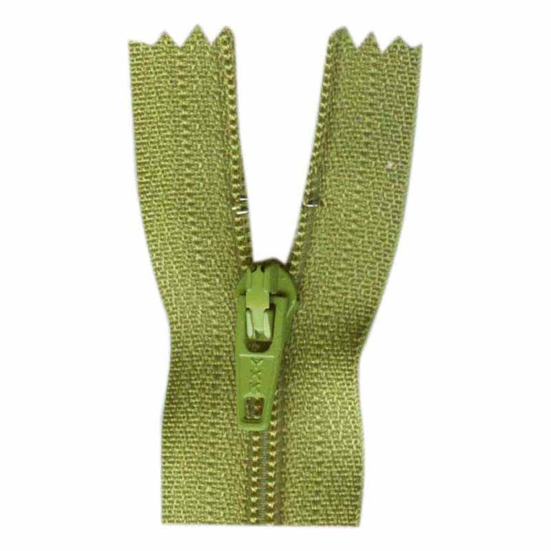 General Purpose Closed End Zipper 35cm (14) -- Apple Green - 1700