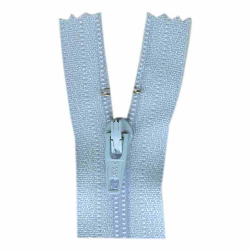 General Purpose Closed End Zipper 35cm (14) -- Candy Blue - 1700