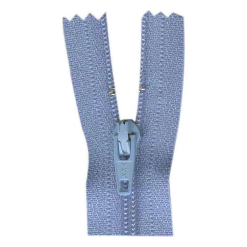 General Purpose Closed End Zipper 35cm (14) -- Sky Blue - 1700