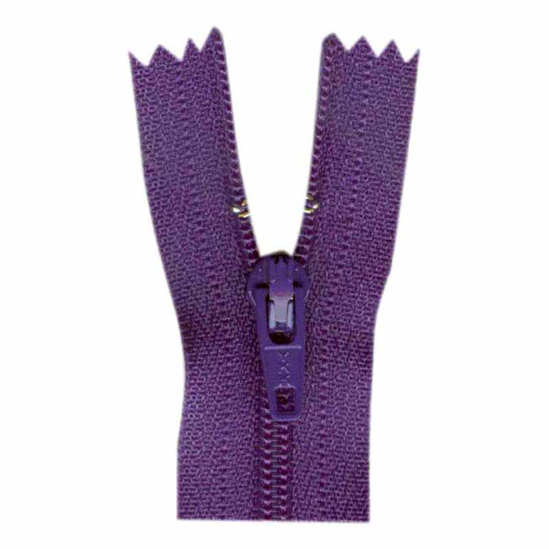 General Purpose Closed End Zipper 35cm (14) -- Purple - 1700