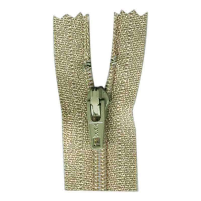 General Purpose Closed End Zipper 35cm (14) -- Celery - 1700