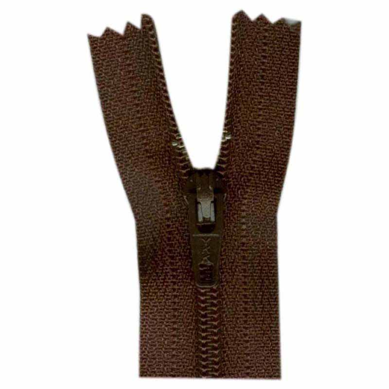 General Purpose Closed End Zipper 35cm (14) -- Sept. Brown - 1700