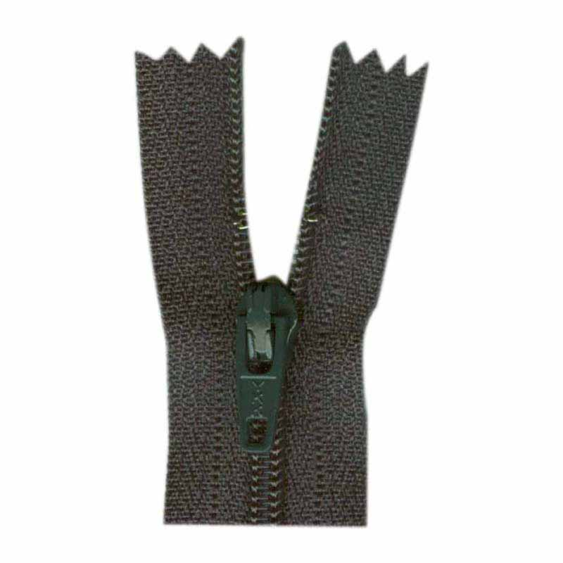 General Purpose Closed End Zipper 35cm (14) -- Charcoal - 1700
