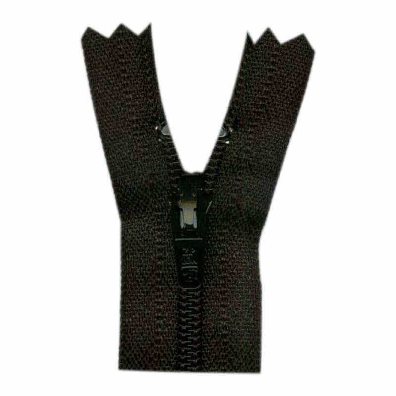 General Purpose Closed End Zipper 35cm (14) -- Black - 1700