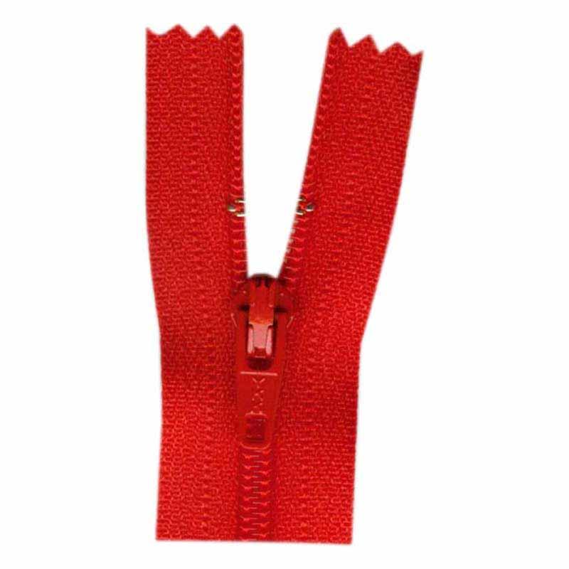 General Purpose Closed End Zipper 35cm (14) -- Atom Red - 1700