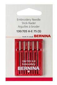 Bernina 75/11 Embroidery Needles