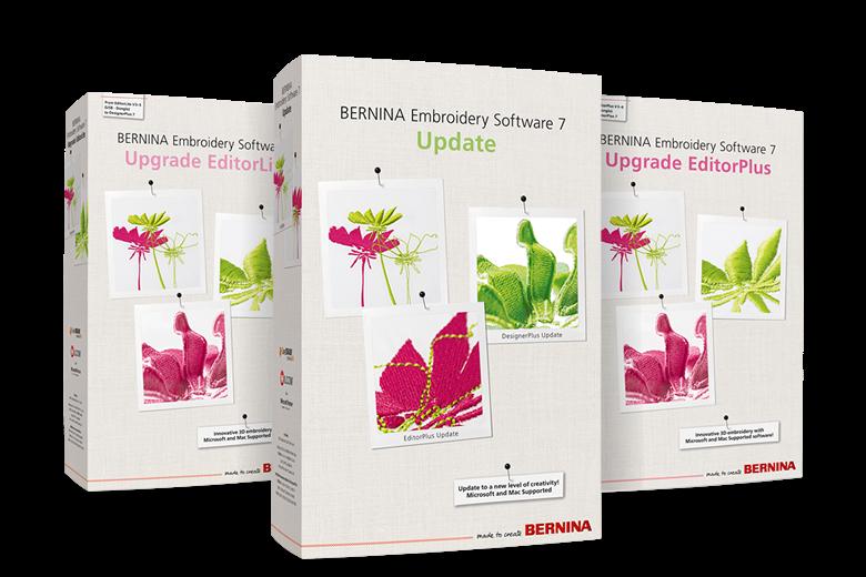 Bernina Version 7 Update