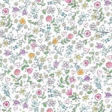 Tweet Me White Flower