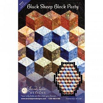 Black Sheep Block Party Pattern