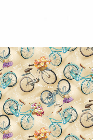 Wilmington Prints Le Cafe by Danhui Nai 89169 275 Bicycles