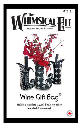 Whimsical Jester Wine Gift Bag
