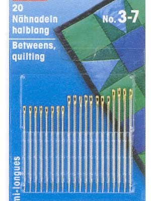 Hand sewing needles no.5-9 20 count