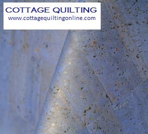 Blue Cork Fabric (18x18)