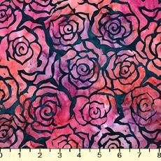 Batik Gazebo Blue Rose