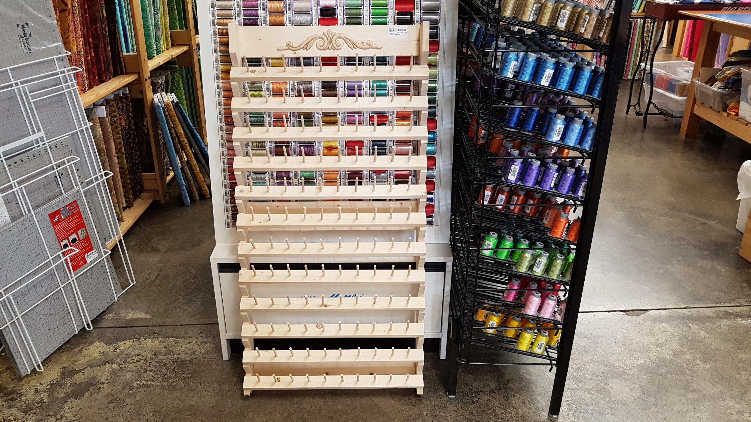 Wooden Thread Rack 120 spools