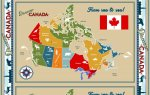Discover Canada Map