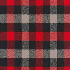 Mammoth Flannel Red Plaid