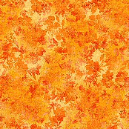 Courtyard Textures - Tangerine
