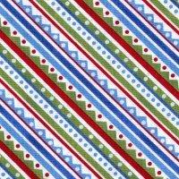 Nancy Mink Snow Friends Stripe