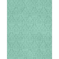 Wilmington Prints- Freshly Picked 54545 444 Damask Teal