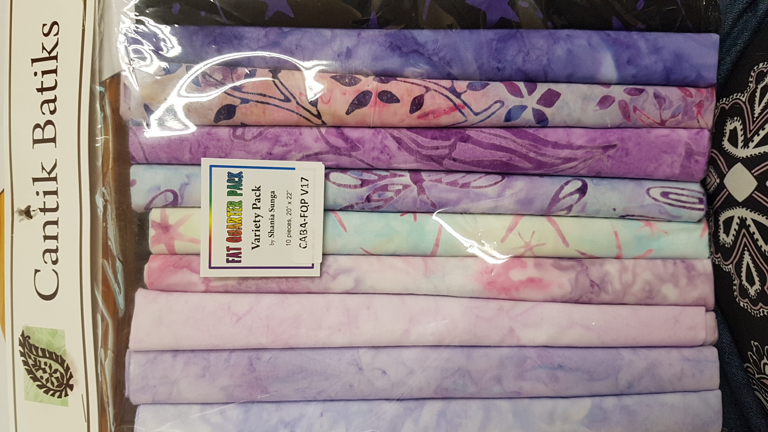 FQ Bundle - Cantik Batik Variety FQ Pack (10)