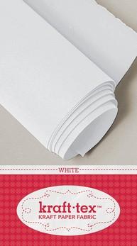 Kraft Tex Roll White