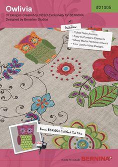 Bernina Owlivia Embroidery Designs