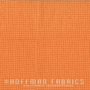 Indah Hand Dyed Batik - Hoffman - Apricot