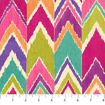 Bohemian Vibe - Mulit Color Chevron