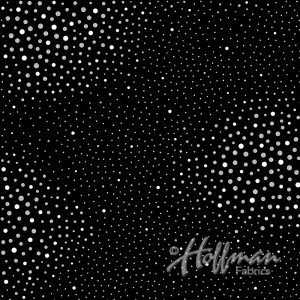 Hoffman Sparkle and Fade Black/Silver Speckle