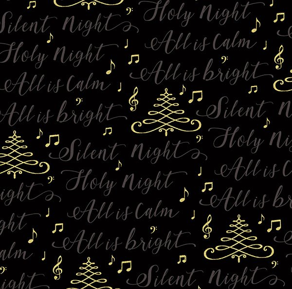 Hoffman Cardinal Carols Black Gold Silent Night Lyrics
