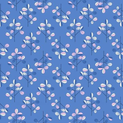 Lewis & Irene - Hann's House - Blue Flowers - 280.2