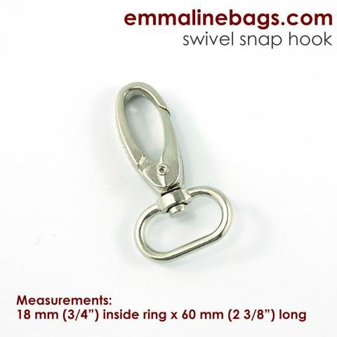 Emmaline 3/4 Swivel Snap Hook (2 pack)