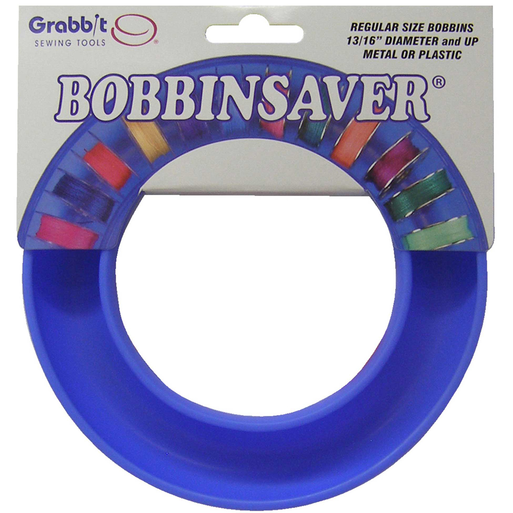 GRABBIT BobbinSaverTM Bobbin Holder - Blue