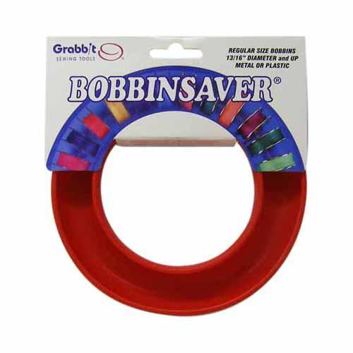 GRABBIT BobbinSaverTM Bobbin Holder - Red