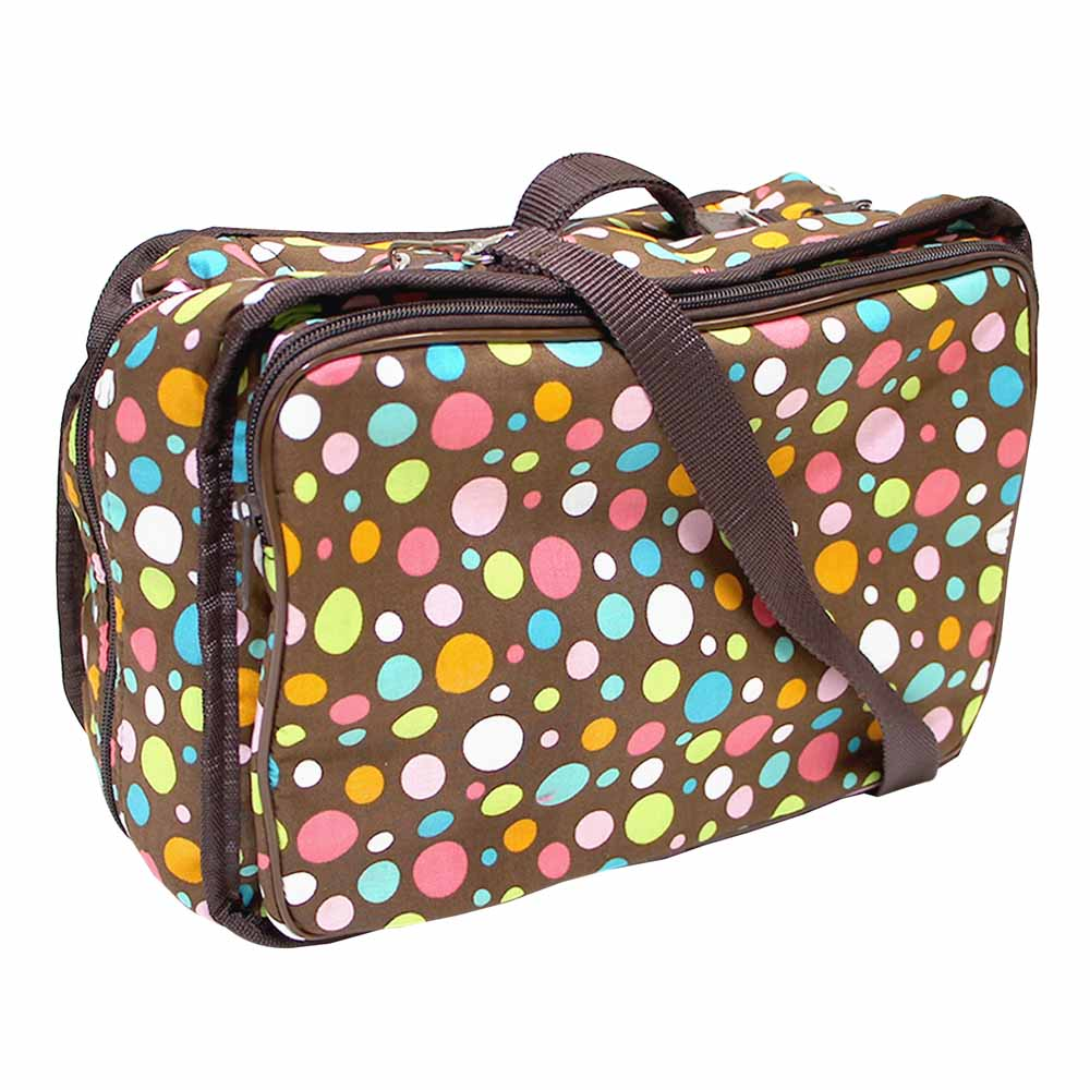 VIVACE Craft/Accessories Tote - M&M - 33 x 25 x 13cm (13 x 10 x 5)