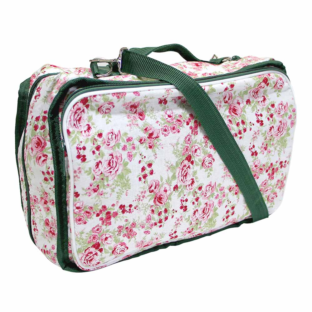VIVACE Craft/Accessories Tote - Rose Bouquet - 33 x 25 x 13cm (13 x 10 x 5)