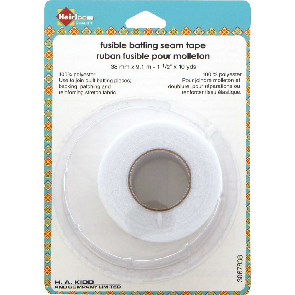 HEIRLOOM Fusible Batting Seam Tape