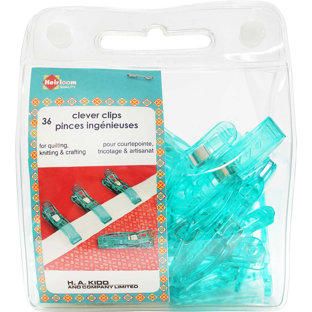 HEIRLOOM Clever Clips Large - 36pcs