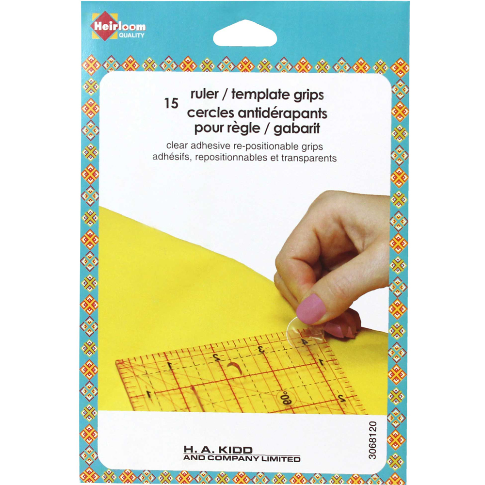 HEIRLOOM Ruler / Template Grips - 15 pcs.