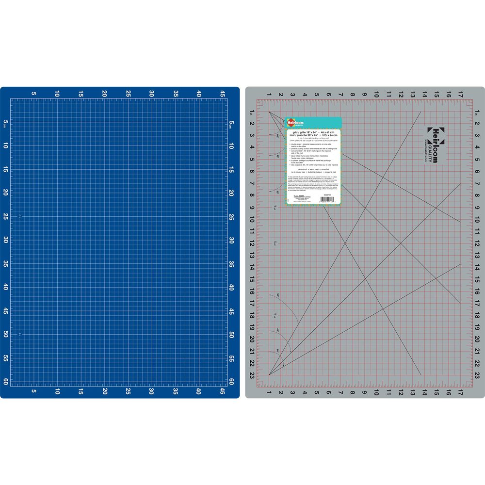 HEIRLOOM Double Sided Cutting Mat - 18 x 24