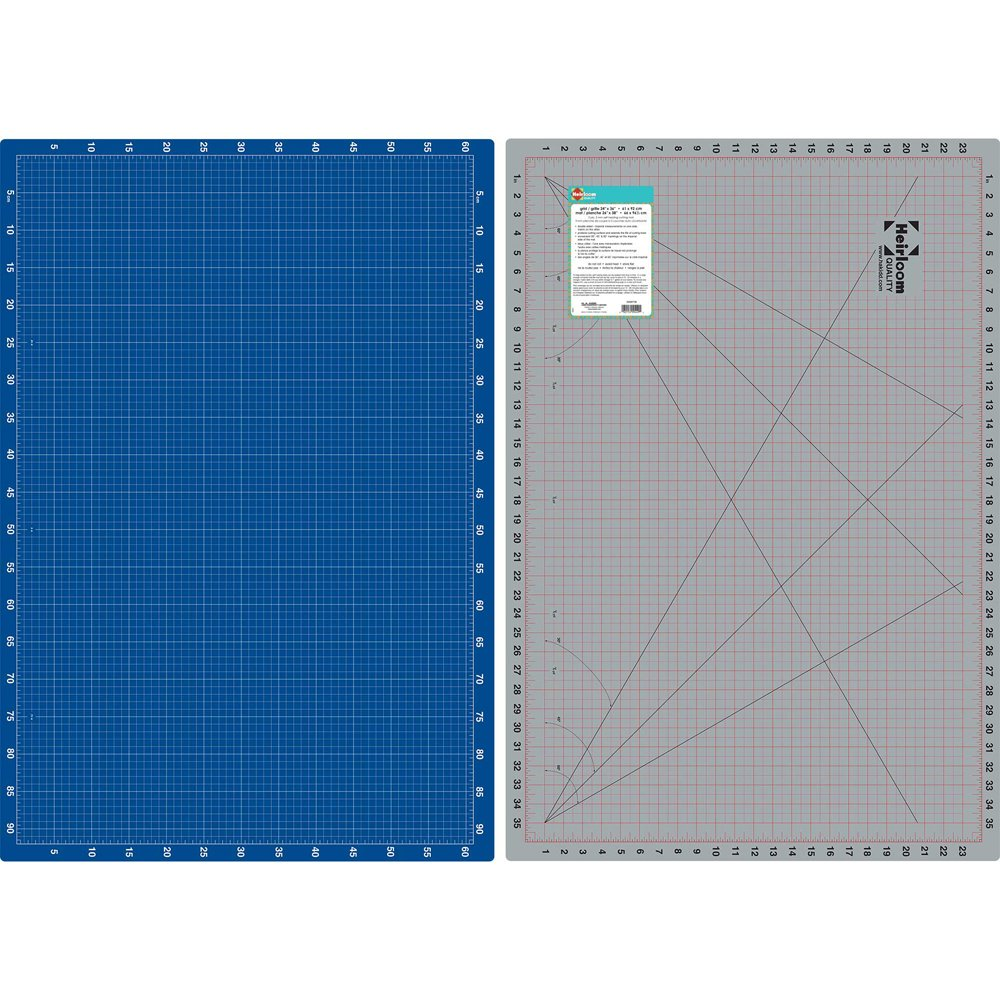 HEIRLOOM Double Sided Cutting Mat - 24 x 36
