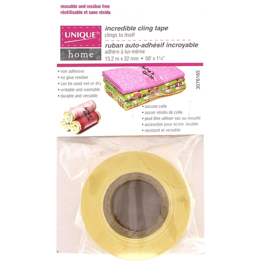UNIQUE HOME Incredible Cling Tape - 32mm x 15.2m (1 1/4 x 50')