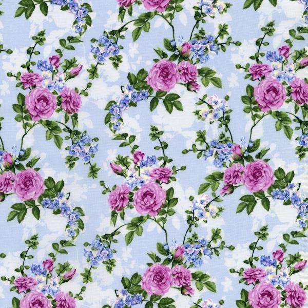 Beverly Park - Melrose - Hydrangea Fabric